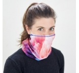 ML3123 - 100% RPET Multiscarf with inside pocket for a filter or disposable mask. Min 100 pcs